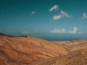 fuerteventura, spain, mountain, vista, sea, ocean - DSCF000155