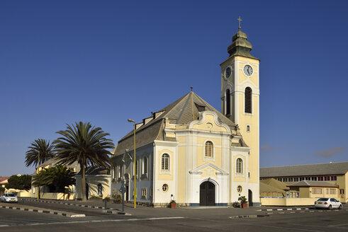 Africa, Namibia, Erongo Province, Swakopmund, German colonial lutheran church - ES001442