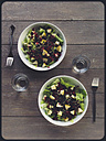 Salad with pears and beetroot - EVGF000973