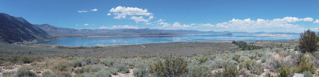 usa, california, mono county, mono lake, panorama - DSCF000183