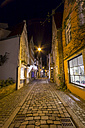 Germany, Bremen, view to alley 'Schnoor' - SJF000129