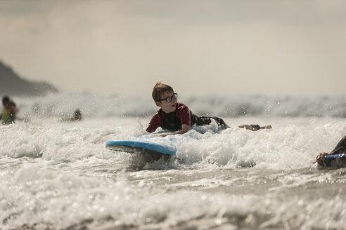 Boy surfboarding - PAF001041