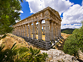 Italy, Sicily, Catafalmi, Temple complex of the Elymians of Segesta - AMF003146