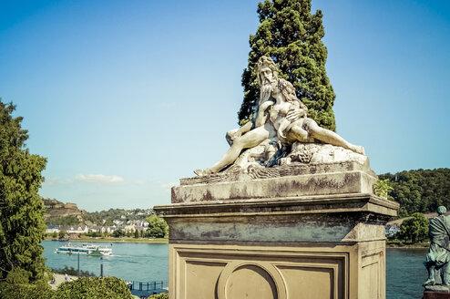 Germany, Koblenz, River Rhine - PU000223