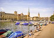 Switzerland, Zurich, old town - PUF000231