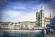 Switzerland, Zurich, old town - PU000234
