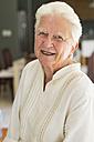 Portrait of smiling senior woman - ABAF001573