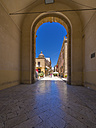 Italy, Sicily, Province of Trapani, Marsala, Old town, Town gate - AMF003188
