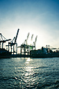 Germany, Hamburg, harbor - PU000271