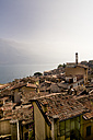 Italy, Lombardy, Brecia, Limone sul Garda, View over rooftops of the city - LVF002182