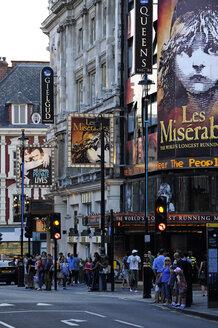 UK, London, Soho, theatres on Shaftesbury Avenue - MIZ000690