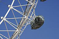 UK, London, detail of London Eye - MIZ000699