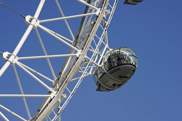 UK, London, detail of London Eye - MIZ000699