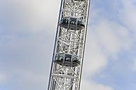 UK, London, detail of London Eye - MIZ000710