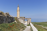 Turkey, Van Province, Van, view to watchtower and entrance of citadel - SIEF006242