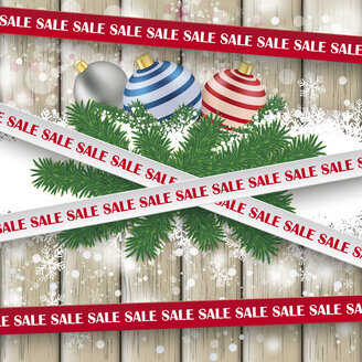 Festive sale sticker with lines, vector graphics - ALF000249