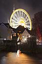 Germany, North Rhine-Westphalia, Soest, All Saints' Day, Big wheel at night - WIF001166