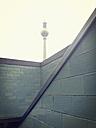 TV tower Alex at Alexander square, Landmark of the city of Berlin, Berlin, Germany - MEMF000497