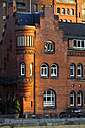 Germany, Hamburg, Speicherstadt, brick building - MIZF000740
