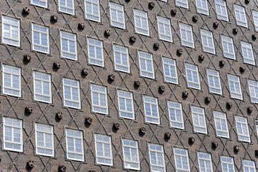 Germany, Hamburg, front of Kontorhaus Sprinkenhof - MIZF000744