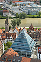 Germany, Baden-Wuerttemberg, Ulm, cityscape with library - SHF001625