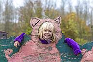 Little girl having fun at playground - JFEF000557