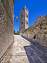 Italy, Sicily, Province of Trapani, Erice, Church tower, Torre de Re Frederico II - AMF003266