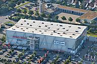Germany, Baden-Wuerttemberg, Friedrichshafen, aerial view of Bodensee Center - SH001759