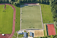 Germany, Baden-Wuerttemberg, Constance, aerial view of sports field - SHF001694