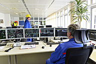 Control center in a power station - LY000365