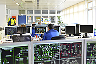 Control center in a power station - LY000366