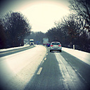 Road in winter - HOHF001189