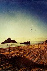 Spain, Majorca, Cala Mol, beach - DWIF000312