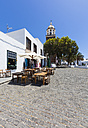 Spain, Canary Islands, Lanzarote, Teguise, Old town, Plaza la Constitucion - AMF003319