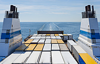 Baltic Sea, Gulf of Finland, ferry with truck trailers - JBF000166