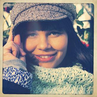 Smiling woman - HOHF001218
