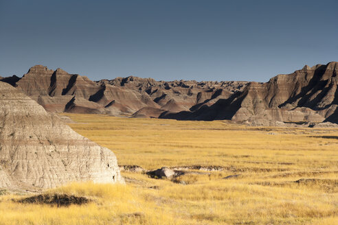 USA, South Dakota, Badlands National Park, Landscape - NNF000096
