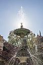 Germany, Mecklenburg-Vorpommern, Schwerin, fountain in Burggarten - PVCF000219