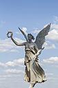 Germany, Mecklenburg-Vorpommern, Schwerin, Viktoria statue in castle garden - PVCF000241