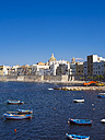 Italy, Sicily, Province of Trapani, Trapani, Old town, Harbour and Via Mura di Tramontana Ovest - AMF003337