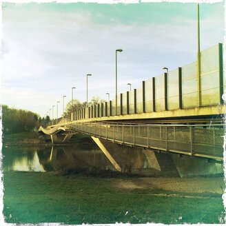 Glacis bridge, Ingolstadt, Bavaria, Germany - MAB000282