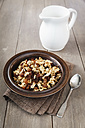 Plate of homemade granola - EVGF001406