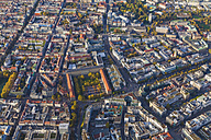 Germany, Baden-Wuerttemberg, Stuttgart, aerial view of city center - WDF002767