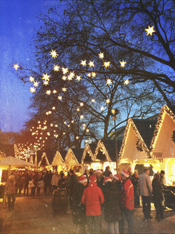 Germany, Cologne, Christmas market - GW003326