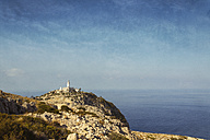Spain, Baleares, Mallorca, Cap Formentor, view to light house - DWIF000325