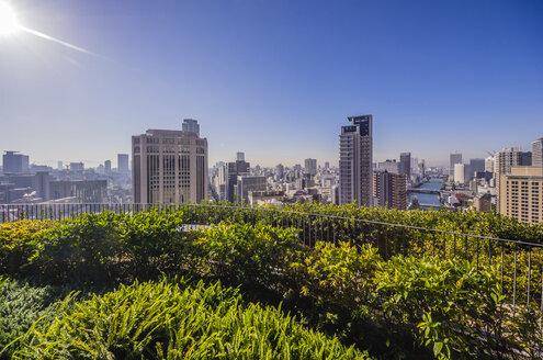 Japan, Osaka, Nakanoshima district, cityscape - THAF001028