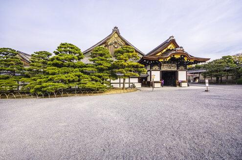 Japan, Kyoto, Nijo Castle, Entrance gate - THAF001088