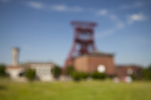 Germany, Ruhr area, Gelsenkirchen, disused coal mine Consolidation, defocused - WIF001184