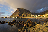Spain, Canary Islands, La Gomera, Valle Gran Rey, villages La Playa and La Calera, mountain La Merica - SIEF006322