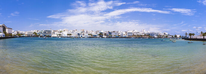 Spain, Canary Islands, Lanzarote, Arrecife, view to Charco de San Gines - AMF003521